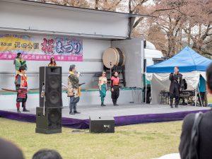 上州真田武将隊のパフォーマンス