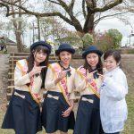 今年の沼田観光親善大使の3名(と青年部メンバー)